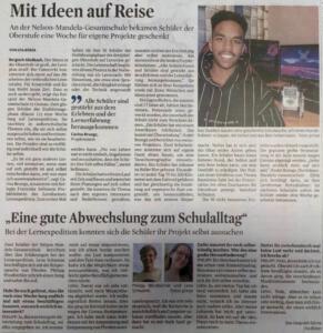 LEX-Zeitungsartikel